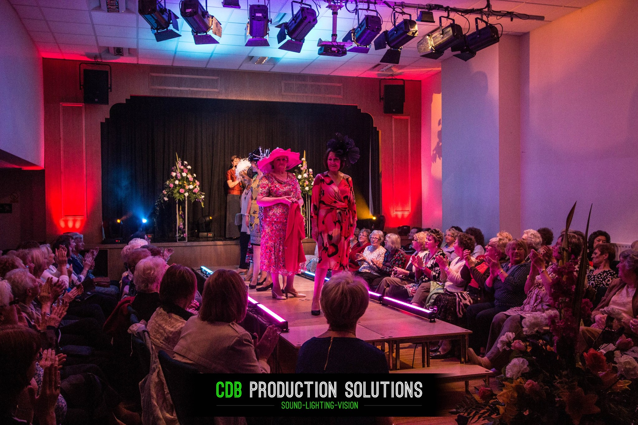 Charity Fashion ShowLighting by CDB Production Solutions