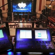 Lighting Desk Used for BAMMA