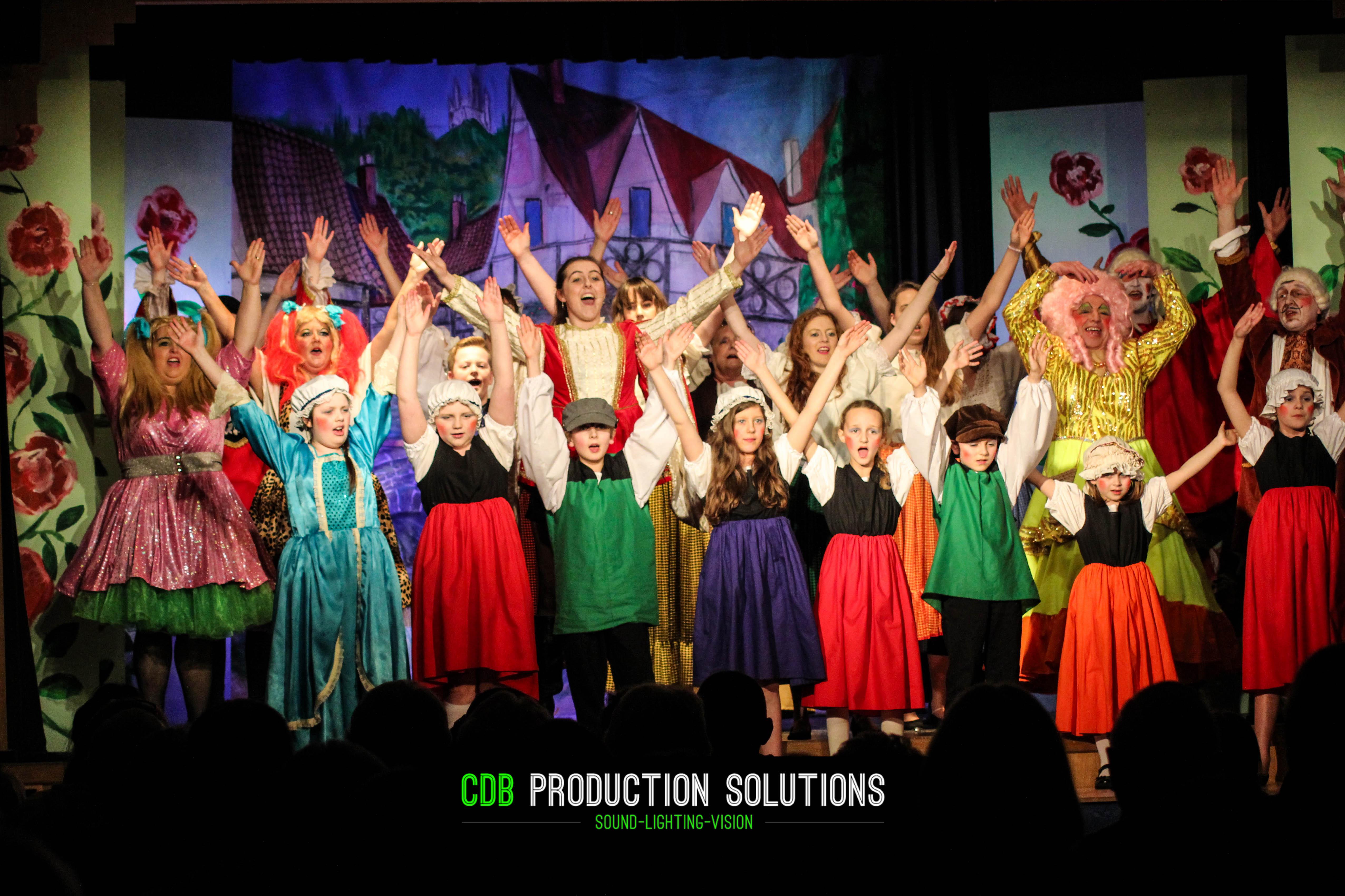 Panto Services during pantomime season england