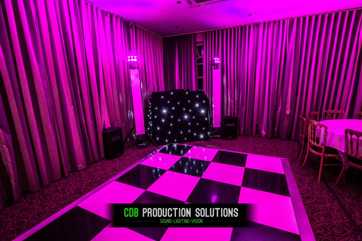Mobile Disco Room Lighting
