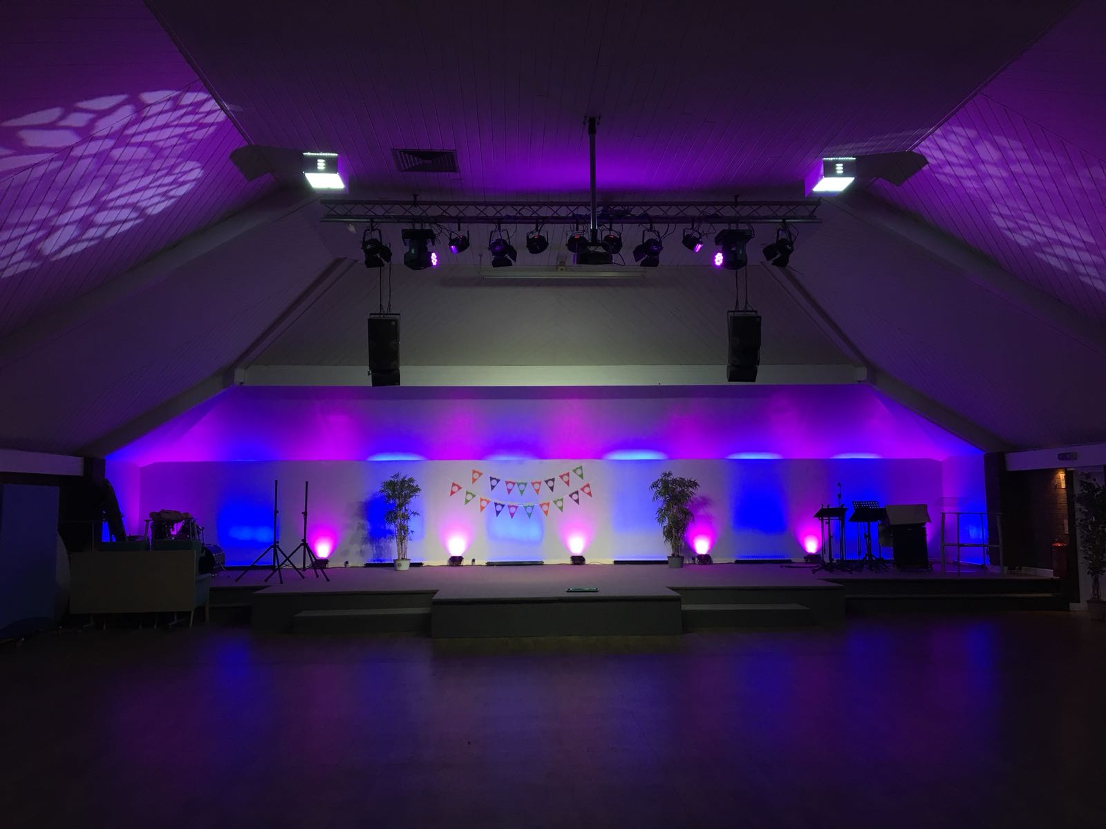 Lighting Installation, Audio Visual, AV