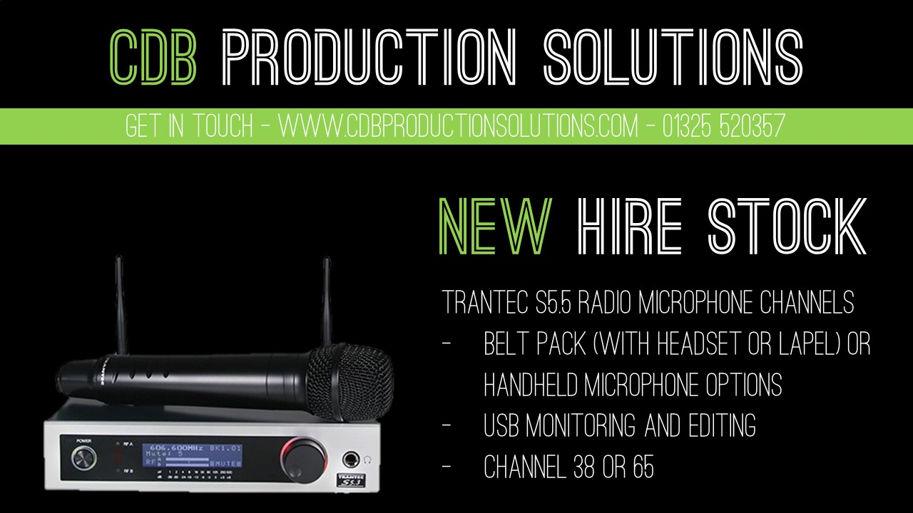 Radio Mic Hire North East