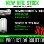 Showtec Waterproof Outdoor Lighting Dome, Showtec Outdoor Dome - Batten XL